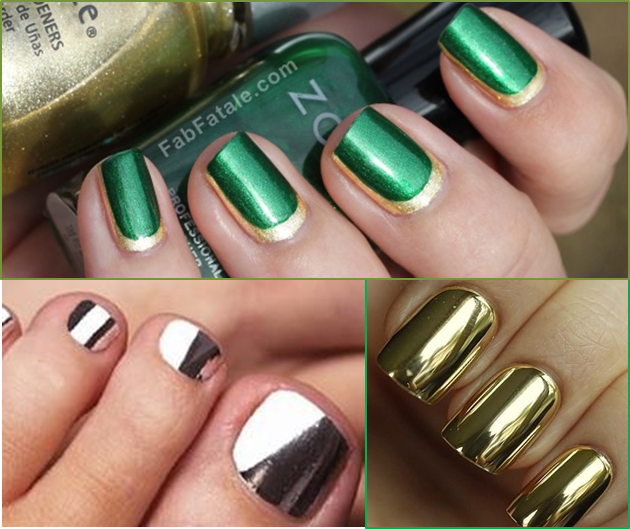 tendencias en uñas metalicos