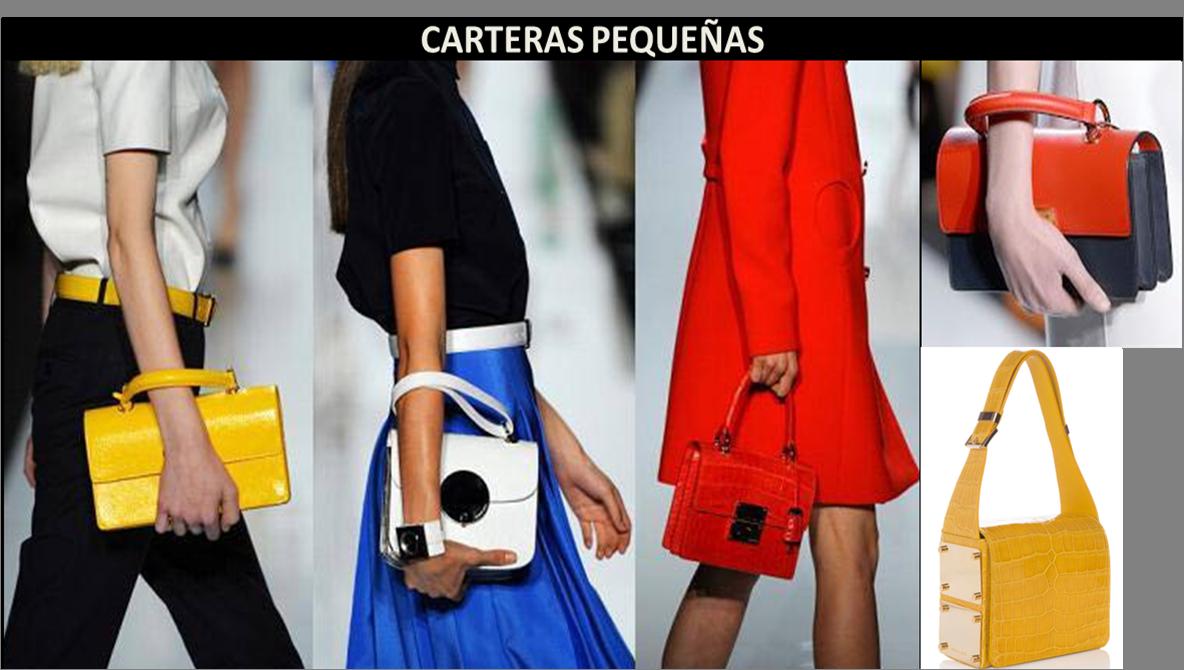 tendencias en bolsos carteras pequeñas
